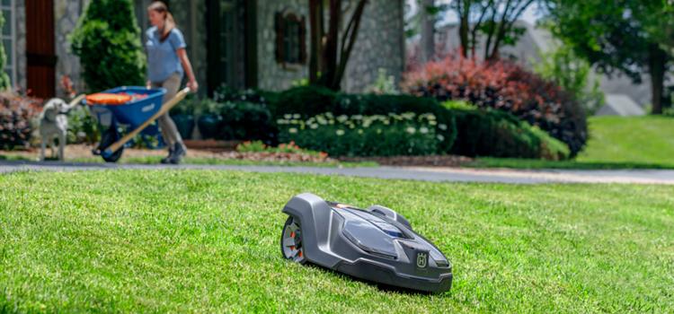 Automower, un robot cortacésped que hace el trabajo por ti