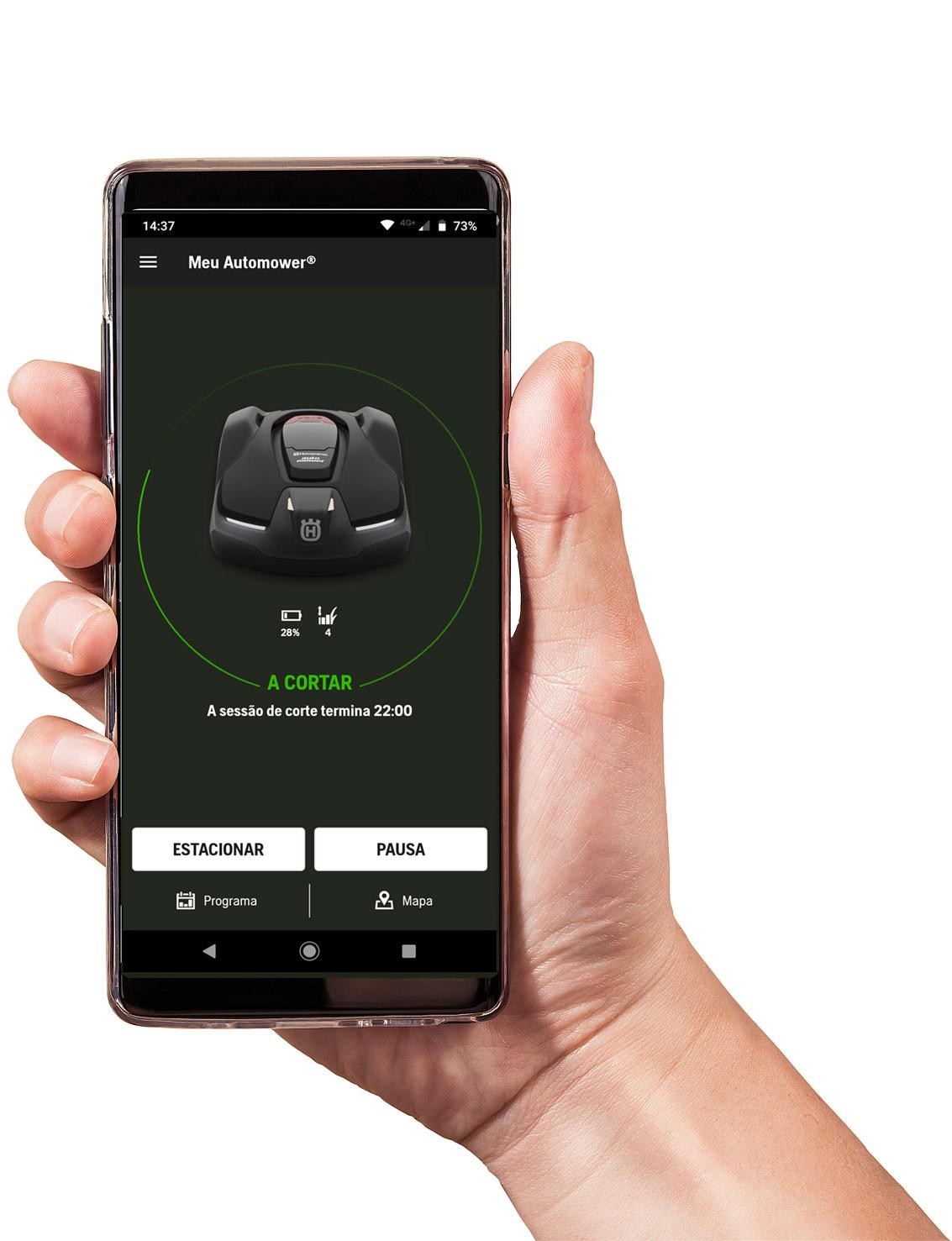 App automower® conectar